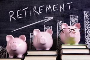 Retirement savings piggy banks - pensions advice from Torphin Financial Planning